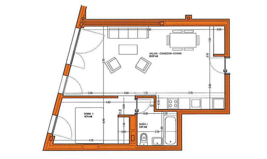 Locales comerciales planos vivienda cannonsmulku for Planos de locales comerciales modernos