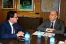 Soler se reúne con el alcalde de Villanueva de la Serena