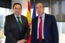 Soler se reúne con el alcalde de Campo de Criptana