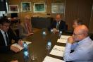 Soler se reúne con el presidente de la Asociación de Empresarios del polígono de San Cristóbal