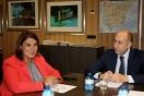 Soler se reúne con la consejera de Fomento de Castilla-La Mancha