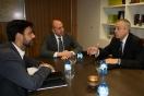 Soler se reúne con el delegado del Consorcio de la Zona Franca de Barcelona