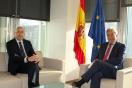 Lucrecio Fernández se reúne con el diputado Alejandro Soler