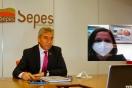 Fernández mantiene un encuentro digital con la alcaldesa de Monforte del Cid