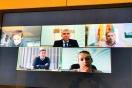 Lucrecio Fernández se reúne por videoconferencia con el alcalde de As Pontes