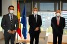 Fernandez repasa con el alcalde de Paterna la situación del parque empresarial Fuente del Jarro