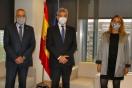 Lucrecio Fernández se reúne con Pere Navarro, delegado especial del Estado en la Zona Franca de Barcelona
