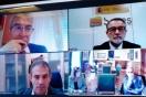 Fernandez se reúne por videoconferencia con el alcalde de Palencia