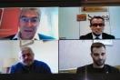 Lucrecio Fernandez se reúne con el alcalde de Vinaròs por videoconferencia