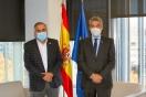 Fernandez se reúne con el alcalde de Mieres