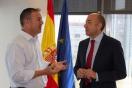 Reunión Alejandro Soler con el alcalde Guarromán