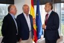 Alejandro Soler recibe al alcalde de Reinosa