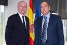 Soler se reúne con el alcalde de Málaga