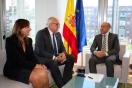 Soler se reúne con el alcalde de Manzanares