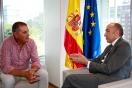 Soler se reúne con el alcalde de Morcín