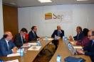 Sepes se ofrece a facilitar la compra del suelo para el desarrollo de la ZAL de Cartagena