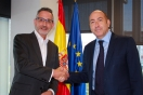 Soler se reúne con el alcalde de Valdepeñas