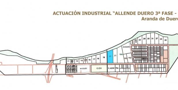 Parcelario Allende Duero 3F1E_2018