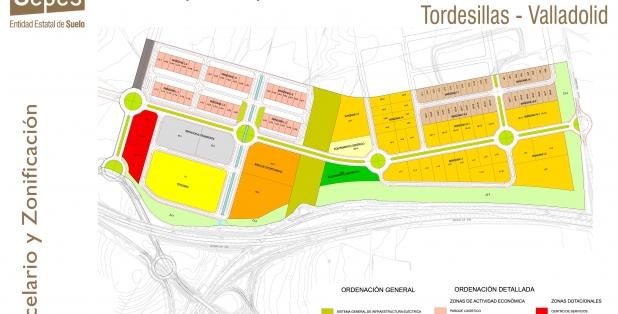 Parcelario Tordesillas S1