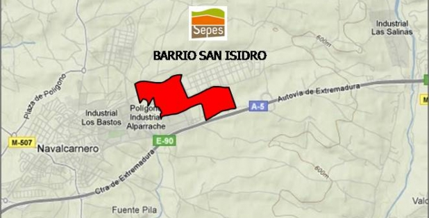 Situación 01 Bº San Isidro S1.2 Industrial
