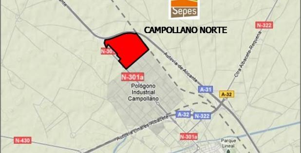 Situación 01 Campollano Norte parcelas 2018