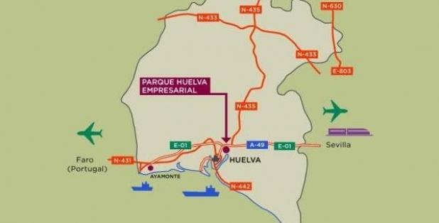 Situación 01 Parque Huelva Empresarial 2018