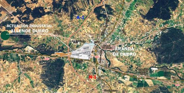 Situación Allende Duero