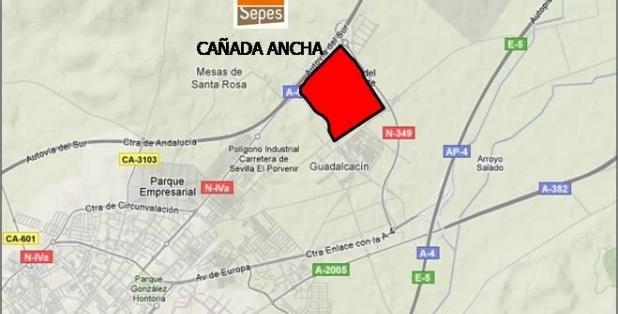 Situación Cañada Ancha 2F 2018