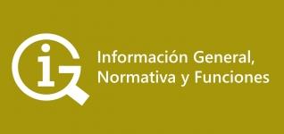 Información General, Normativa y Funciones