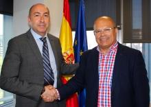 Soler se reúne con el subdelegado del Gobierno en León