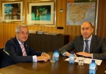 Soler se reúne con el consejero de Fomento de Melilla