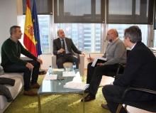 Soler se reúne con el alcalde de Ribadeo
