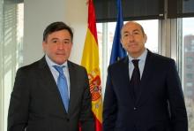 Alejandro Soler se reúne con el delegado del Gobierno en La Rioja