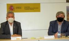 Fernández se reúne con el director de la Escuela Politécnica de Cáceres