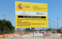 Comienzan las obras de acondicionamiento para la recepción municipal de la ZAL del puerto de Valencia