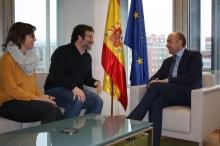 Alejandro Soler se reúne con la concejala de Territorio y el concejal de Vivienda del ayuntamiento de Dénia