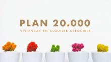 """Fomento impulsa la vivienda pública en régimen de alquiler asequible con el """"Plan 20.000"""""""